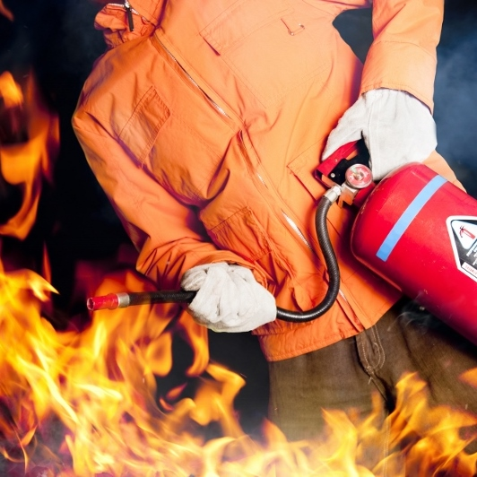 Fire Safety Training Online offered by MidSouthWest Training and Consulting