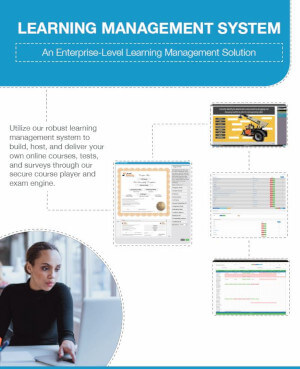 Download our LMS training management brochure